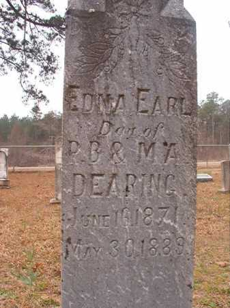 DEARING, EDNA EARL - Union County, Arkansas | EDNA EARL DEARING - Arkansas Gravestone Photos