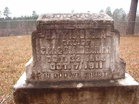 DEARING, HATTIE ONELA - Union County, Arkansas | HATTIE ONELA DEARING - Arkansas Gravestone Photos