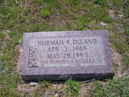 DELANO, NORMAN R - Union County, Arkansas | NORMAN R DELANO - Arkansas Gravestone Photos