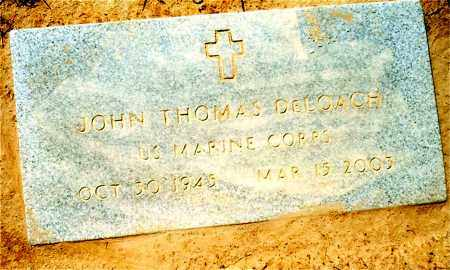 DELOACH (VETERAN), JOHN THOMAS - Union County, Arkansas | JOHN THOMAS DELOACH (VETERAN) - Arkansas Gravestone Photos