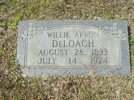 DELOACH, WILLIE ARRON - Union County, Arkansas | WILLIE ARRON DELOACH - Arkansas Gravestone Photos