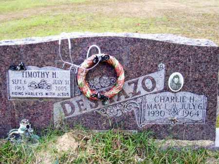 DESHAZO, CHARLIE HAROLD - Union County, Arkansas | CHARLIE HAROLD DESHAZO - Arkansas Gravestone Photos