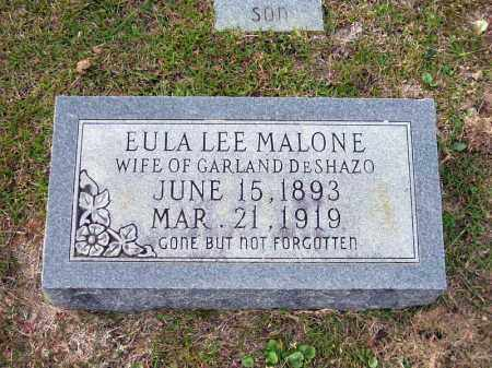 MALONE DESHAZO, EULA LEE - Union County, Arkansas | EULA LEE MALONE DESHAZO - Arkansas Gravestone Photos