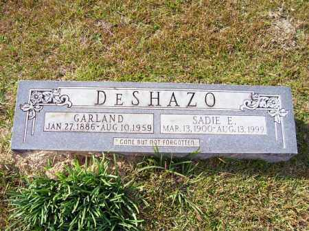 DESHAZO, GARLAND - Union County, Arkansas | GARLAND DESHAZO - Arkansas Gravestone Photos