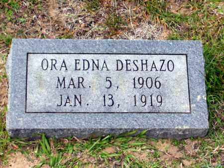DESHAZO, ORA EDNA - Union County, Arkansas | ORA EDNA DESHAZO - Arkansas Gravestone Photos