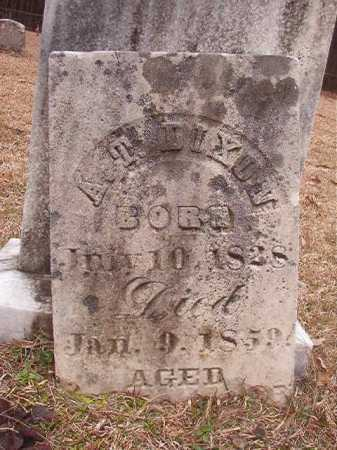 DIXON, A T - Union County, Arkansas | A T DIXON - Arkansas Gravestone Photos
