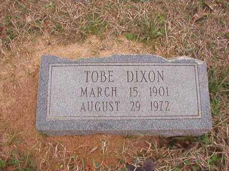 DIXON, TOBE - Union County, Arkansas | TOBE DIXON - Arkansas Gravestone Photos