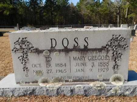 DOSS, MARY - Union County, Arkansas | MARY DOSS - Arkansas Gravestone Photos