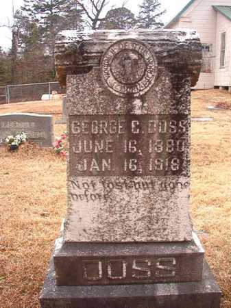 DOSS, GEORGE C - Union County, Arkansas | GEORGE C DOSS - Arkansas Gravestone Photos