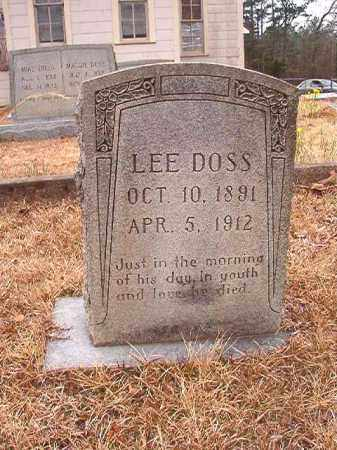 DOSS, LEE - Union County, Arkansas | LEE DOSS - Arkansas Gravestone Photos