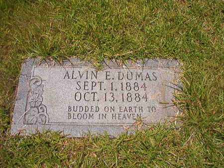 DUMAS, ALVIN E - Union County, Arkansas | ALVIN E DUMAS - Arkansas Gravestone Photos