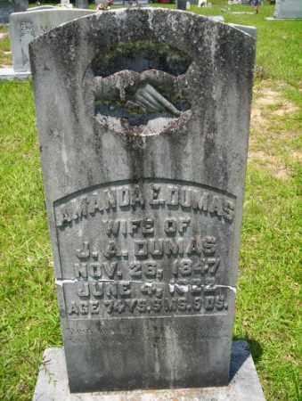 DUMAS, AMANDA E - Union County, Arkansas | AMANDA E DUMAS - Arkansas Gravestone Photos