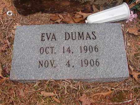 DUMAS, EVA - Union County, Arkansas | EVA DUMAS - Arkansas Gravestone Photos