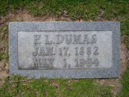 DUMAS, F.L. - Union County, Arkansas | F.L. DUMAS - Arkansas Gravestone Photos