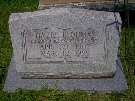 DUMAS, HAZEL L - Union County, Arkansas | HAZEL L DUMAS - Arkansas Gravestone Photos