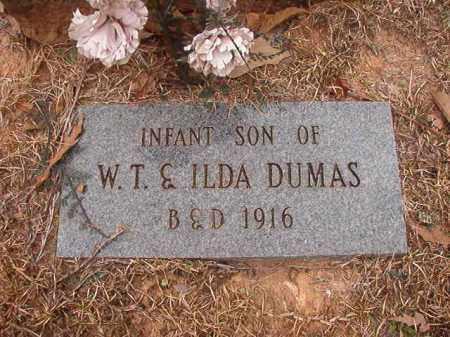 DUMAS, INFANT SON - Union County, Arkansas | INFANT SON DUMAS - Arkansas Gravestone Photos
