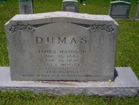 MOOTY DUMAS, ELLA ROSETTA - Union County, Arkansas   ELLA ROSETTA MOOTY DUMAS - Arkansas Gravestone Photos