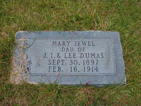 DUMAS, MARY JEWEL - Union County, Arkansas | MARY JEWEL DUMAS - Arkansas Gravestone Photos