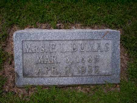 DUMAS, MRS F.L. - Union County, Arkansas | MRS F.L. DUMAS - Arkansas Gravestone Photos