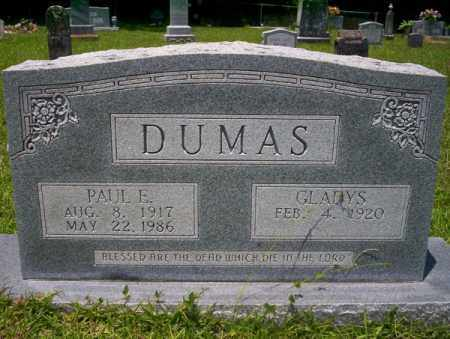 DUMAS, PAUL E - Union County, Arkansas | PAUL E DUMAS - Arkansas Gravestone Photos