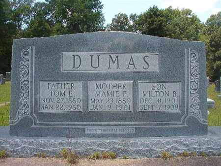 DUMAS, MILTON B - Union County, Arkansas | MILTON B DUMAS - Arkansas Gravestone Photos