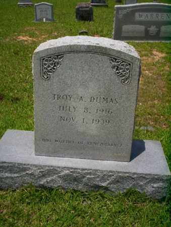 DUMAS, TROY A - Union County, Arkansas | TROY A DUMAS - Arkansas Gravestone Photos