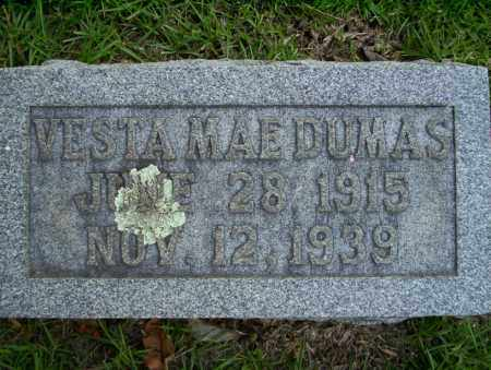 DUMAS, VESTA MAE - Union County, Arkansas | VESTA MAE DUMAS - Arkansas Gravestone Photos