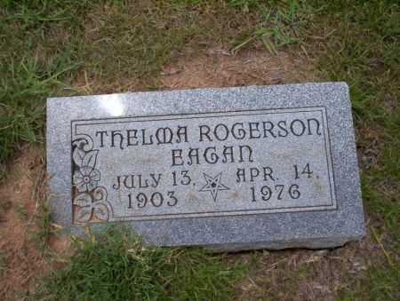 ROGERSON EAGAN, THELMA - Union County, Arkansas | THELMA ROGERSON EAGAN - Arkansas Gravestone Photos