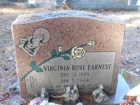 EARNEST, VIRGINIA ROSE - Union County, Arkansas | VIRGINIA ROSE EARNEST - Arkansas Gravestone Photos