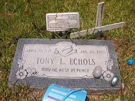 ECHOLS, TONY LYNN - Union County, Arkansas | TONY LYNN ECHOLS - Arkansas Gravestone Photos