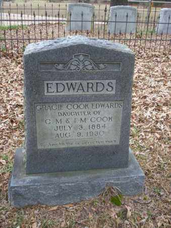 COOK EDWARDS, GRACIE - Union County, Arkansas | GRACIE COOK EDWARDS - Arkansas Gravestone Photos