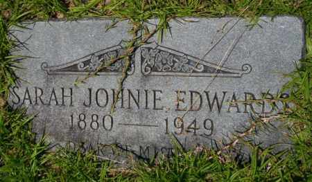 EDWARDS, SARAH JOHNNIE - Union County, Arkansas | SARAH JOHNNIE EDWARDS - Arkansas Gravestone Photos
