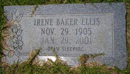 BAKER ELLIS, IRENE - Union County, Arkansas | IRENE BAKER ELLIS - Arkansas Gravestone Photos
