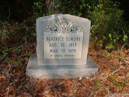 ELMORE, BEATRICE - Union County, Arkansas | BEATRICE ELMORE - Arkansas Gravestone Photos