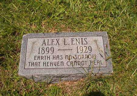 ENIS, ALEX L - Union County, Arkansas | ALEX L ENIS - Arkansas Gravestone Photos