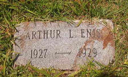 ENIS, ARTHUR L - Union County, Arkansas | ARTHUR L ENIS - Arkansas Gravestone Photos