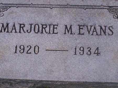 EVANS, MARJORIE M - Union County, Arkansas | MARJORIE M EVANS - Arkansas Gravestone Photos