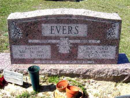 EVERS, BARNEY - Union County, Arkansas | BARNEY EVERS - Arkansas Gravestone Photos