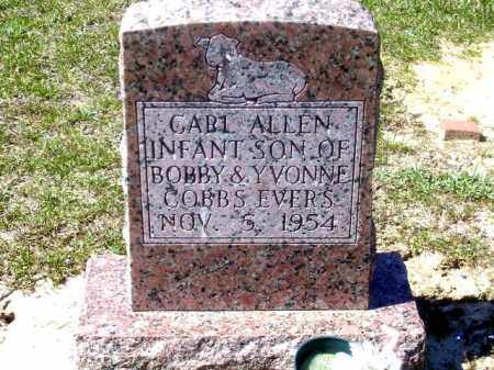 EVERS, CARL ALEN - Union County, Arkansas | CARL ALEN EVERS - Arkansas Gravestone Photos
