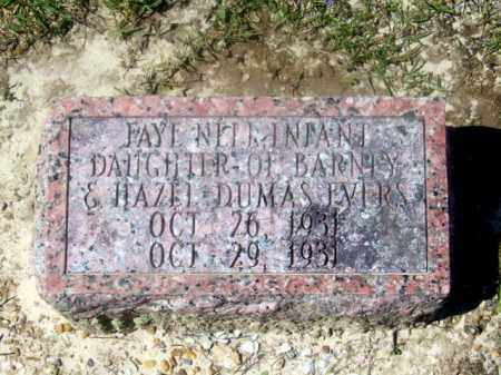 EVERS, FAYE NELL - Union County, Arkansas | FAYE NELL EVERS - Arkansas Gravestone Photos