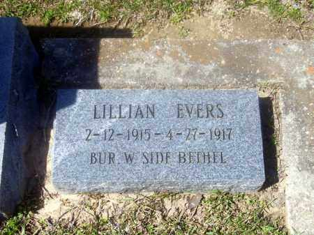 EVERS, LILLIAN - Union County, Arkansas | LILLIAN EVERS - Arkansas Gravestone Photos