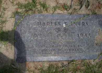 EVERS (VETERAN WWII), CHARLES E - Union County, Arkansas | CHARLES E EVERS (VETERAN WWII) - Arkansas Gravestone Photos