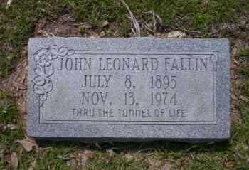 FALLIN, JOHN LEONARD - Union County, Arkansas | JOHN LEONARD FALLIN - Arkansas Gravestone Photos
