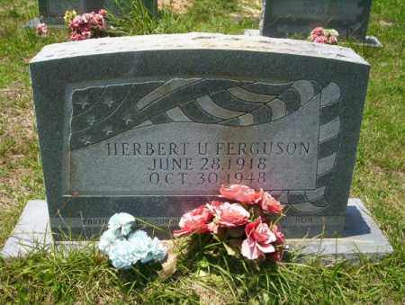 FERGUSON, HERBERT U - Union County, Arkansas | HERBERT U FERGUSON - Arkansas Gravestone Photos