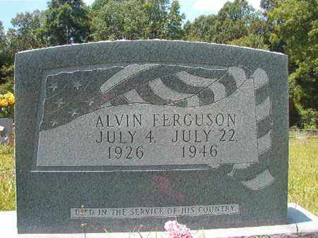 FERGUSON (VETERAN), ALVIN - Union County, Arkansas | ALVIN FERGUSON (VETERAN) - Arkansas Gravestone Photos