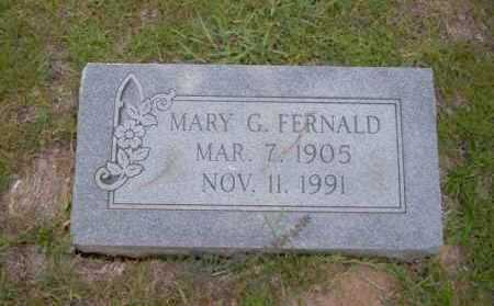 FERNALD, MARY G - Union County, Arkansas | MARY G FERNALD - Arkansas Gravestone Photos