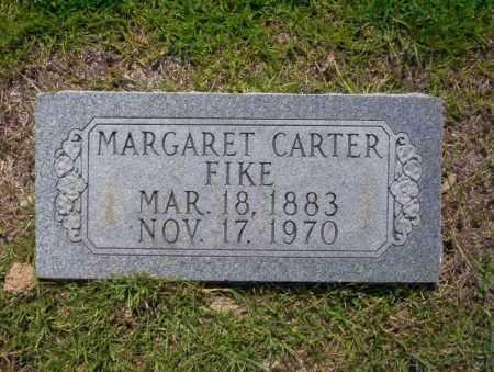 CARTER FIKE, MARGARET - Union County, Arkansas | MARGARET CARTER FIKE - Arkansas Gravestone Photos