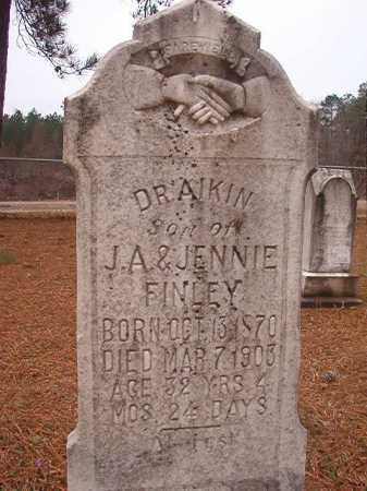 FINLEY, DRAIKIN - Union County, Arkansas | DRAIKIN FINLEY - Arkansas Gravestone Photos