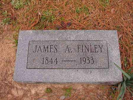 FINLEY, JAMES A - Union County, Arkansas | JAMES A FINLEY - Arkansas Gravestone Photos