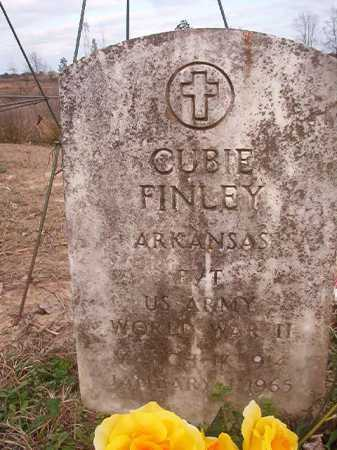 FINLEY (VETERAN WWII), CUBIE - Union County, Arkansas | CUBIE FINLEY (VETERAN WWII) - Arkansas Gravestone Photos
